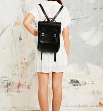 The Portrait Backpack Black