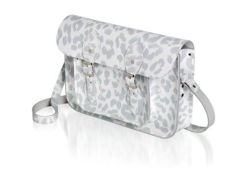 Punk-A-Rama White with Grey Leopard