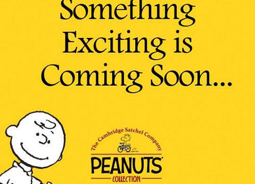 スヌーピー(Peanuts) × cambridge satchel