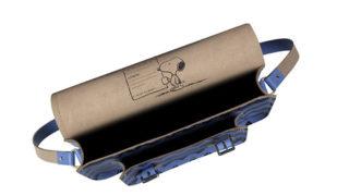 スヌーピー(Peanuts) × cambridge satchel刻印1