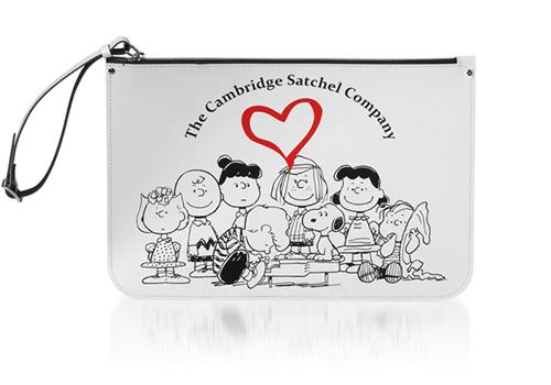 【ポーチ】スヌーピー(Peanuts) × cambridge satchel