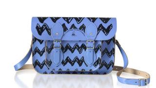 【ブルー】スヌーピー(Peanuts) × cambridge satchel