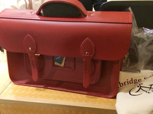 THE BACKPACK Red(レッド)15インチ